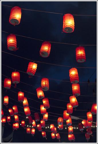 Lanterns in Kathu, Phuket