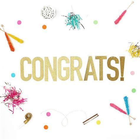 Congrats! Glitter Banner ? Alexis Mattox Design
