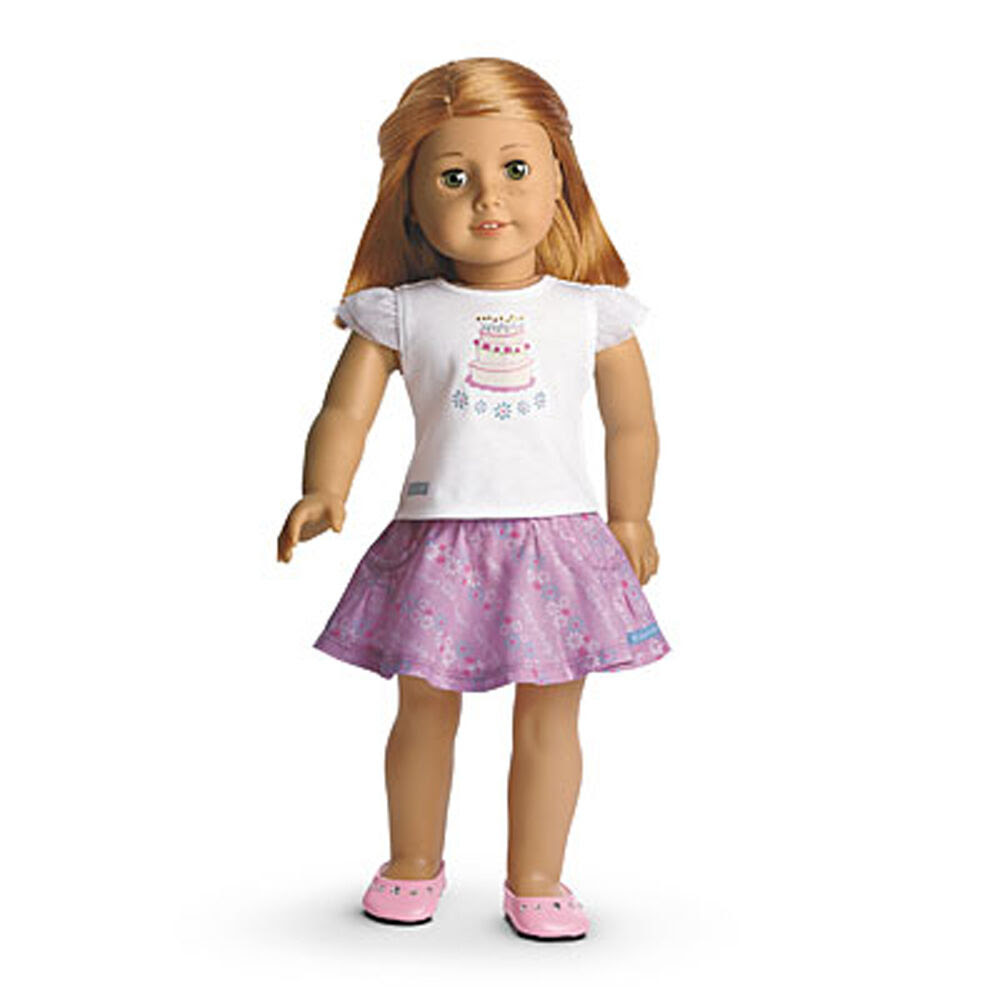 """american girl my ag happy birthday outfit for 18"""" dolls"""