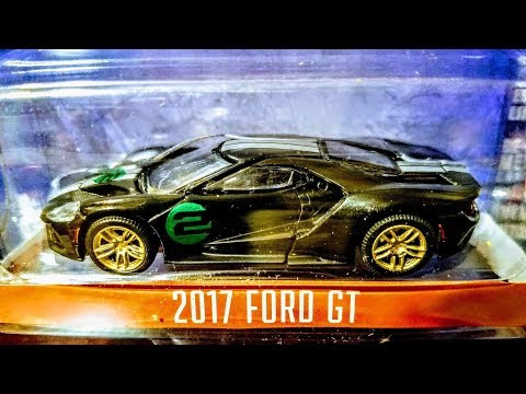 Greenlight Ford Gt Heritage Unboxing With Green Machine