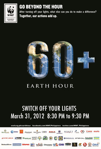 earth hour 2012 poster