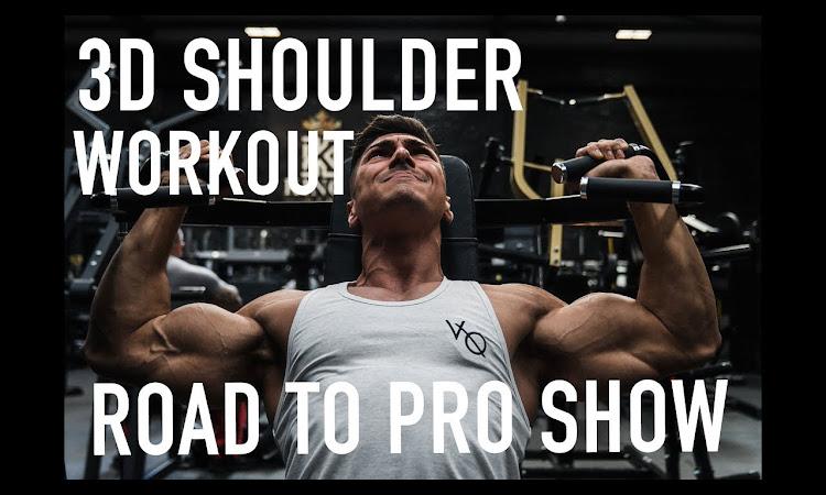 3D shoulder workout / Andrei Deiu'