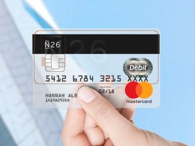 10€ per te con la nuova carta gratuita N26!