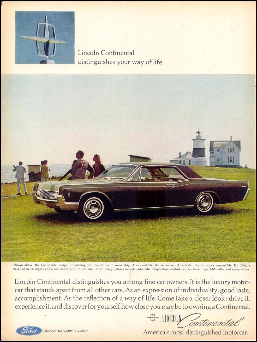 LINCOLN AUTOMOBILES TIME 03/11/1966 p. 6