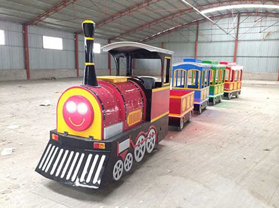 18 Person Trackless Train Rides With 4 Locomotive