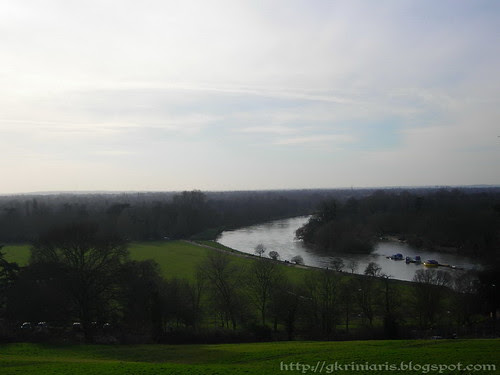 View of Thames from Richmond