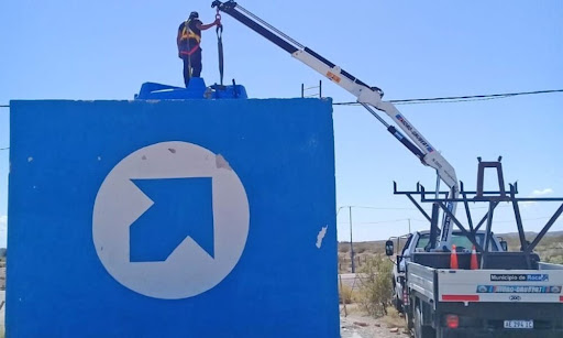 Instalaron una nueva cisterna en Paso Córdoba