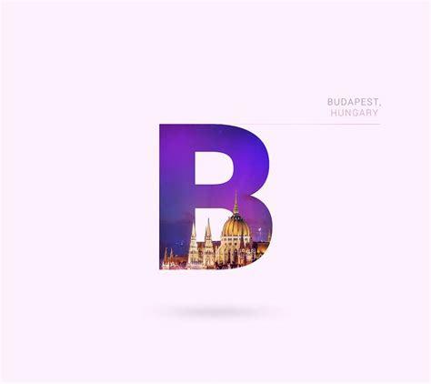 keren gan desain icon kota  dunia   huruf abjad
