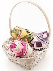 No-Sew Spring Harvest Eggs