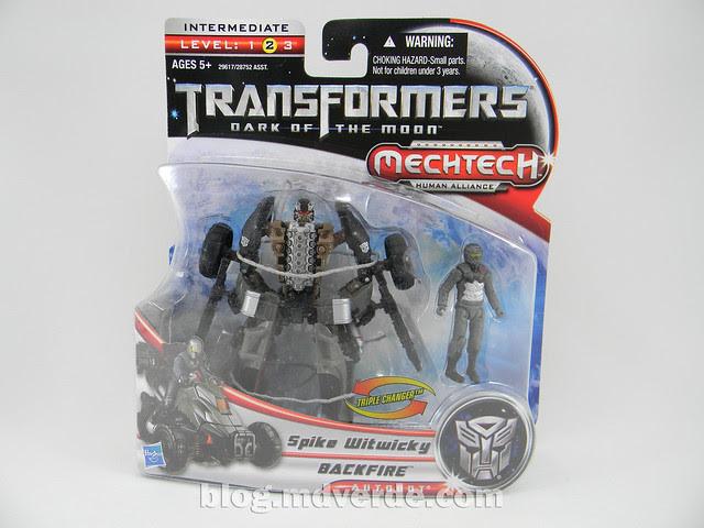 Transformers Backfire DotM Human Alliance - caja