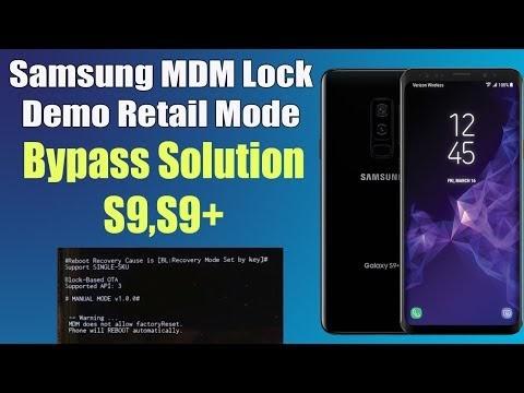 Samsung MDM Lock Bypass - MDM Does Not Allow FactoryReset Fix