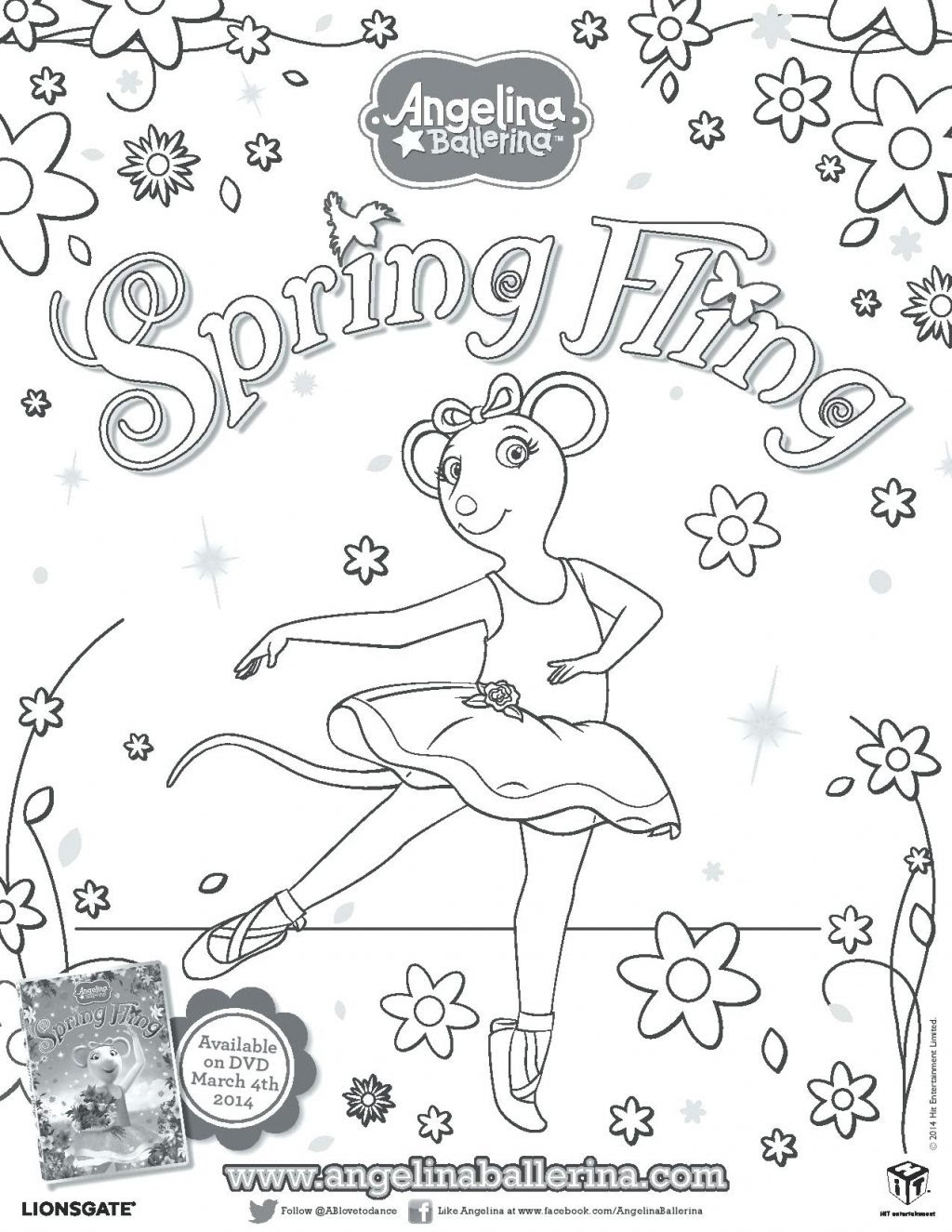 Christmas Ballet Coloring Pages Coloring And Drawing