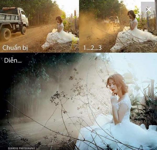 Những bức hình cho thấy để có ảnh đẹp đăng Facebook dân mạng đã vất vả như thế nào! - Ảnh 6.