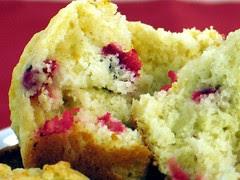 fresh cranberry muffins 2