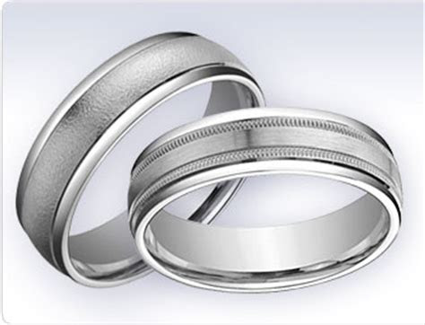 top   metals  mens wedding bands