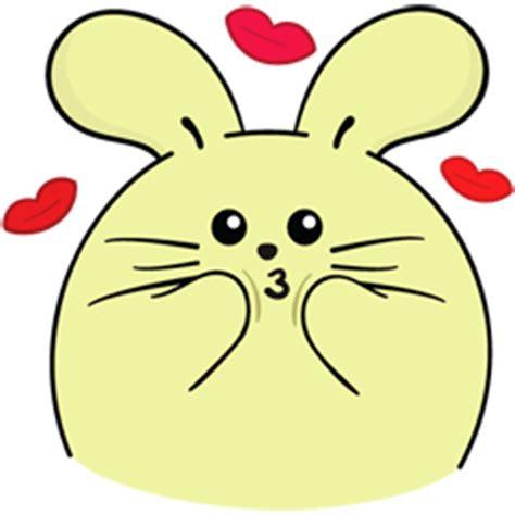 sticker facebook lucu fat rabbit  deloiz