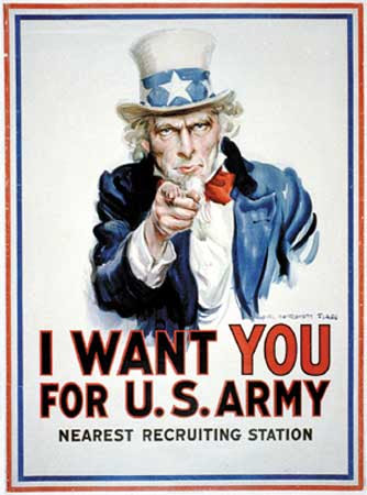 Brandon, I want YOU for U.S.Army !