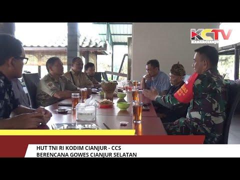 HUT TNI RI Kodim Cianjur - CCS Berencana Gowes Cianjur Selatan