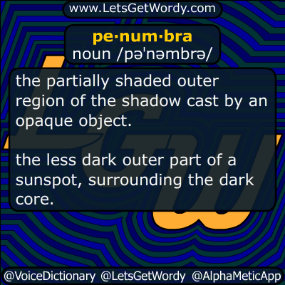penumbra 01/08/2017 GFX Definition