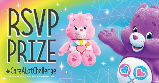 Care Bears RSVP Prize