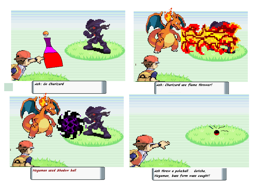The gallery for gt; Red Pokemon Trainer Vs Ash
