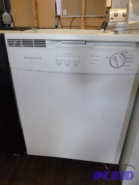 frigidaire ultra quiet iii portable dishwasher manual