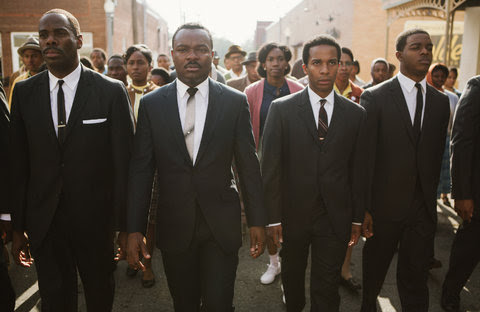 "A scene from the film ""Selma."""