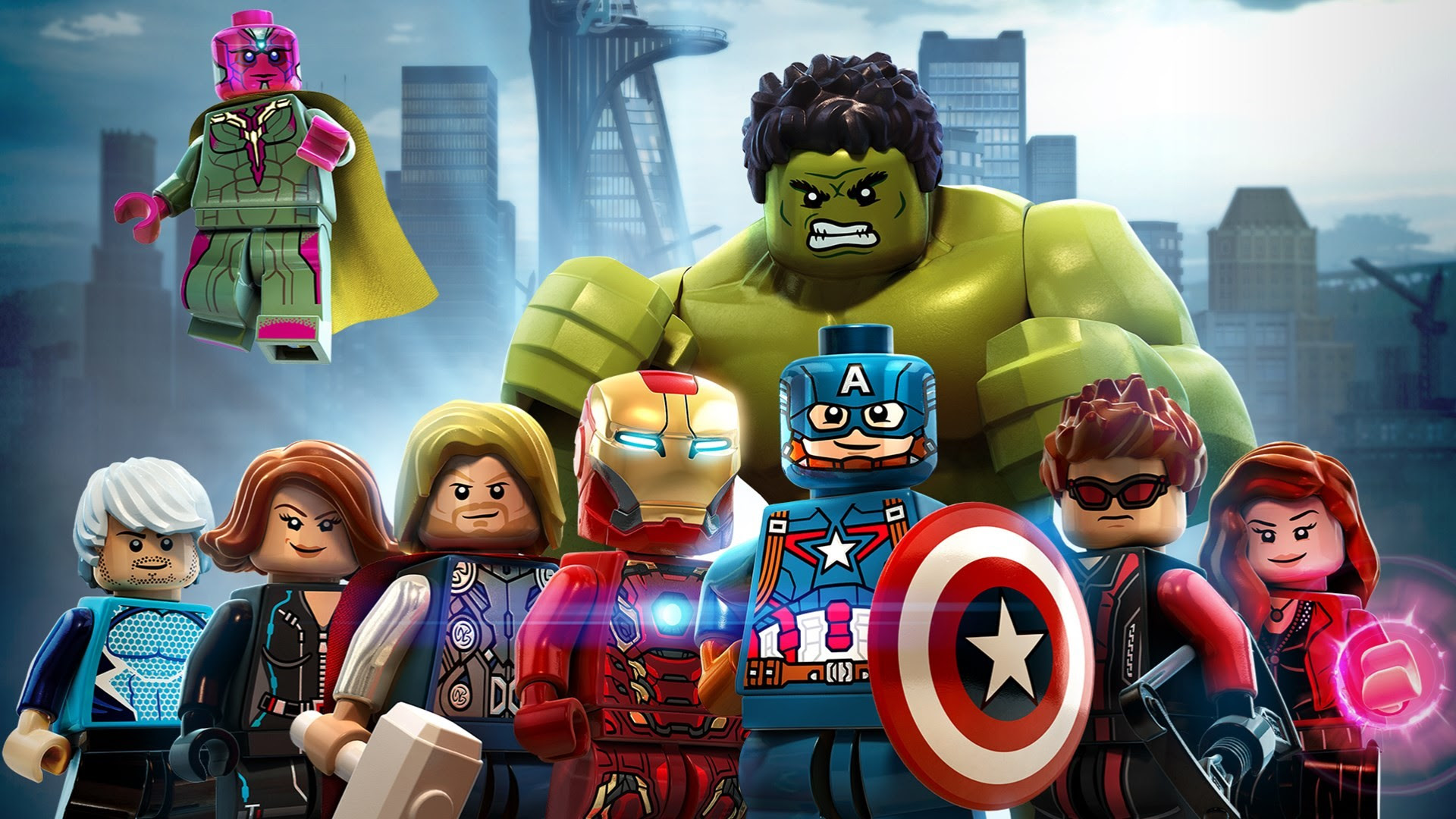 Lego Avengers Wallpaper Hd 74 Images