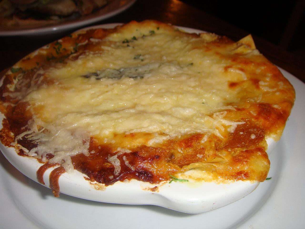Winter squash and sage lasagne