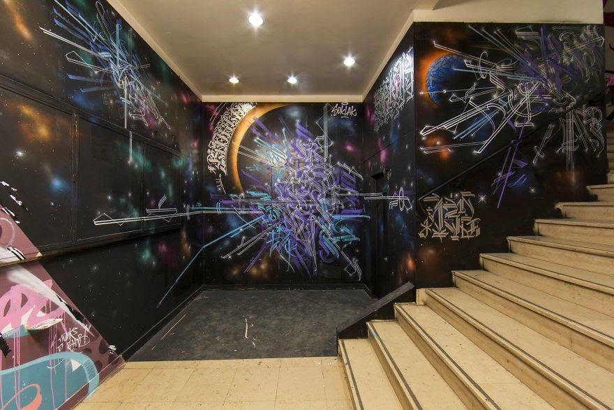 Σχολείο ζήτησε από 100 street artists να το βάψουν πριν ανακαινιστεί και το αποτέλεσμα είναι απίστευτο (8)