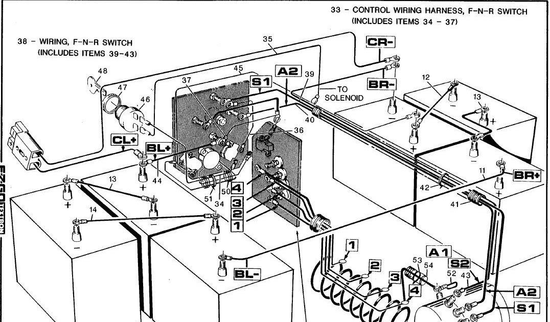 Gas Club Car Wiring Diagram 1992