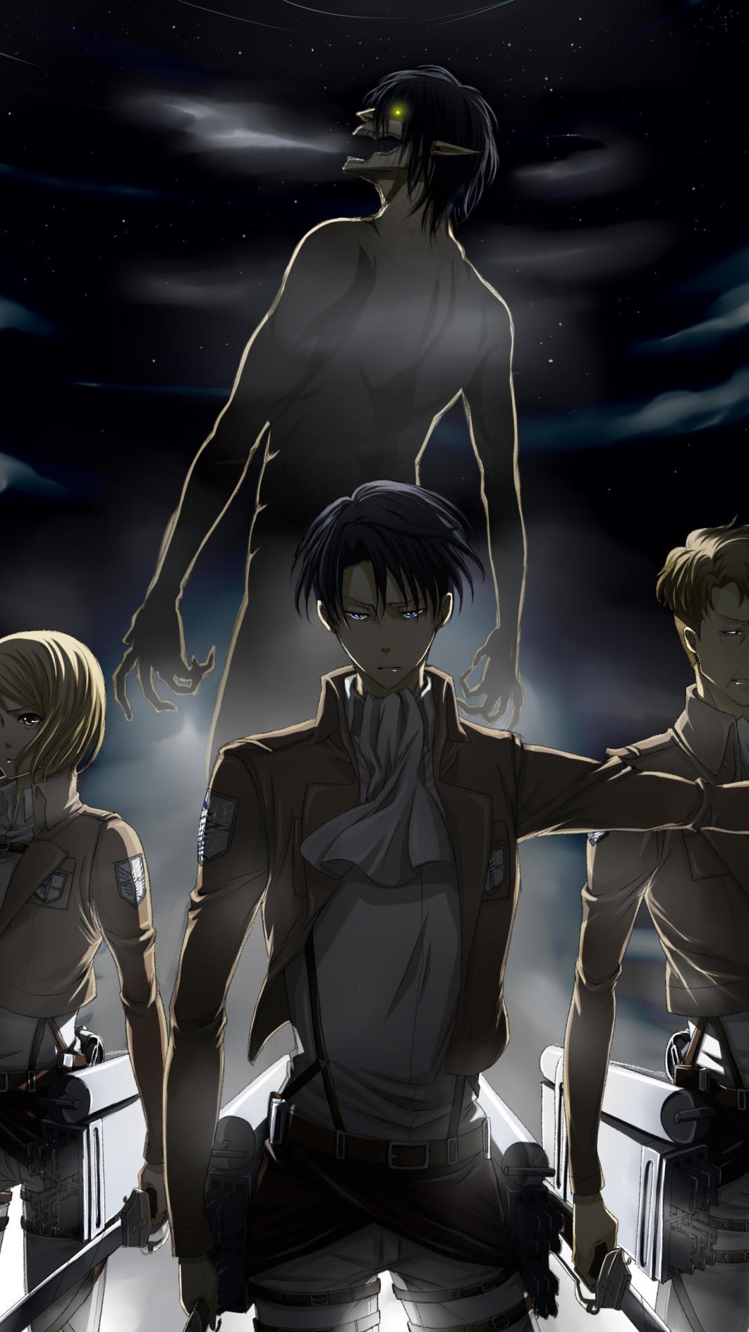 Aesthetic Anime Wallpaper Attack On Titan