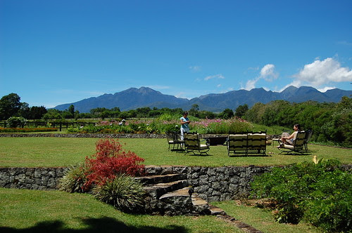 Backyard view of Mt. Kitanlad