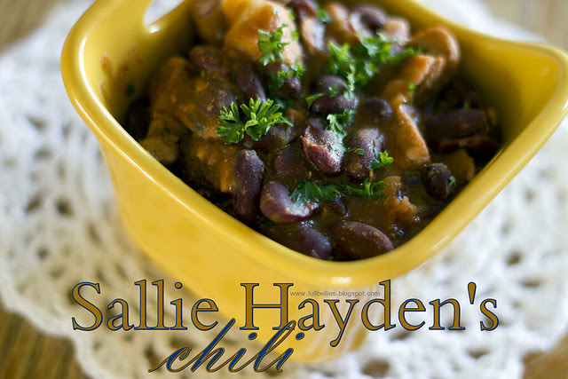 Sallie Hayden's Chili