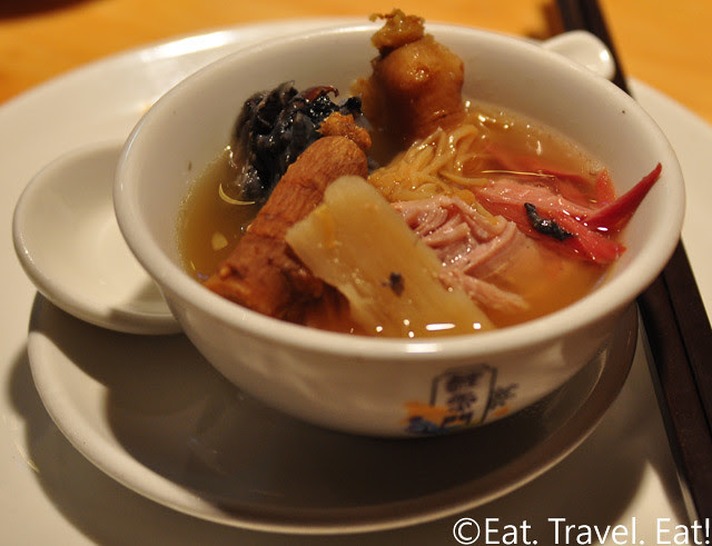 Koi Palace- Daly City, CA: Ginseng, Dried Scallop, Chicken, Pork, Mountain Yam Braised Soup
