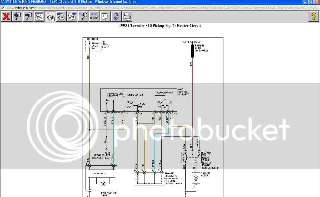 S10 Blower Motor Wiring Diagram