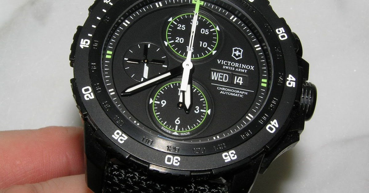 watch reviews by mcv  review of victorinox swiss army