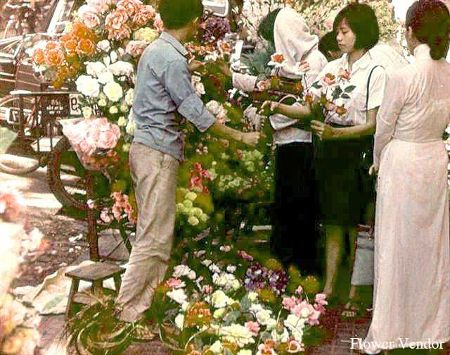 Chợ hoa Nguyễn Huệ. Nguồn: http://yume.vn/