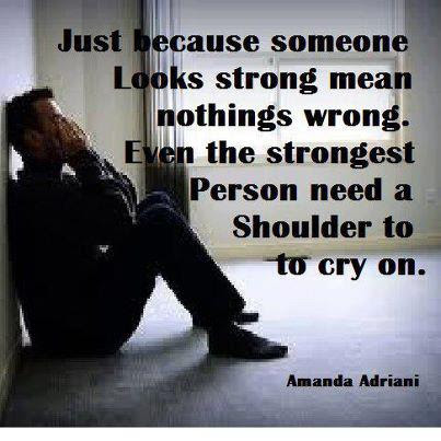 Quotes About Shoulder To Cry On 28 Quotes