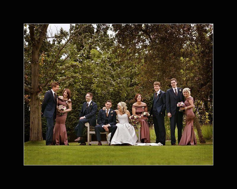 Gaynes Park Barns wedding photo