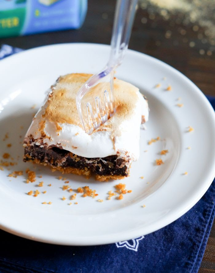 s'mores brownies > s'mores for indoors!