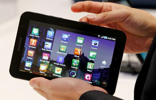 Test Tube the Samsung Galaxy Tab