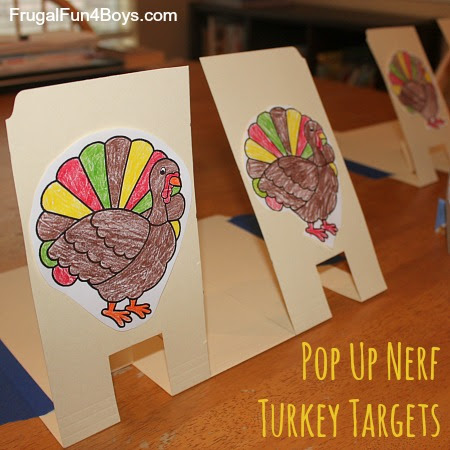 Nerf Turkey Targets (for a Thanksgiving Shoot-out!) - Frugal Fun ...