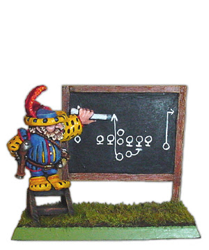 Blood Bowl Dwarf Coach