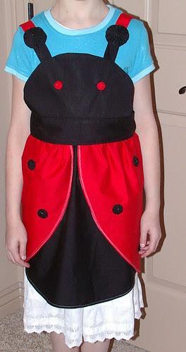 ladybug apron front