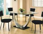 Exciting-Round-Glass-Dining-Table-Set-Design : Nexpeditor