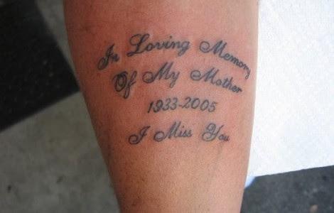 Tattoos In Memory Of Mom Tattoos Designs Ideas