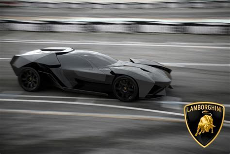 German Student Presents 2016 Lamborghini Ankonian Concept autoevolution