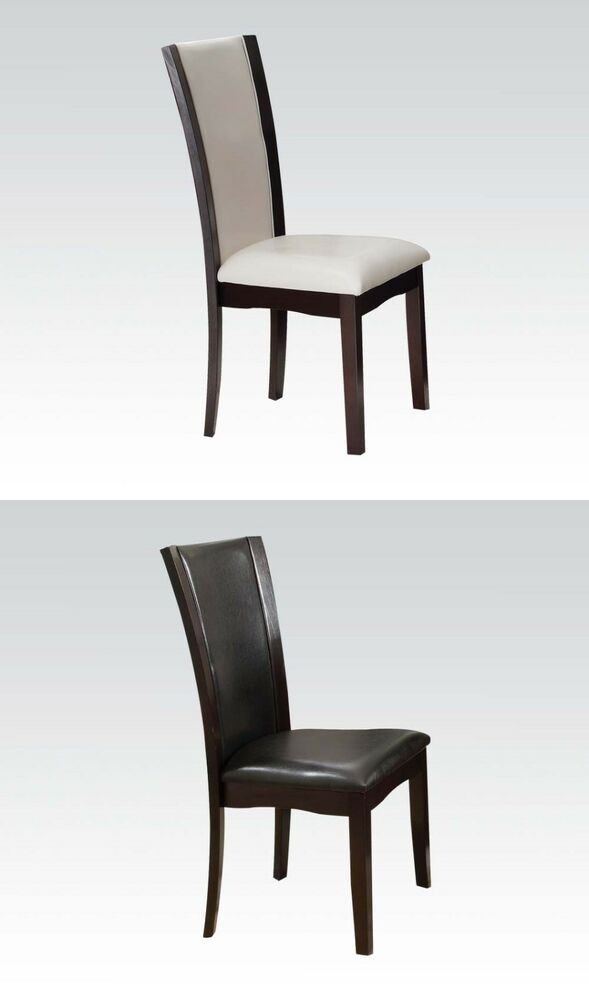 Breakfast Casual Dining room Modern Dining Side Chairs in 2 Colors Chair set  eBay