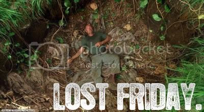 Lost Friday - The Man Behind The Curtain.